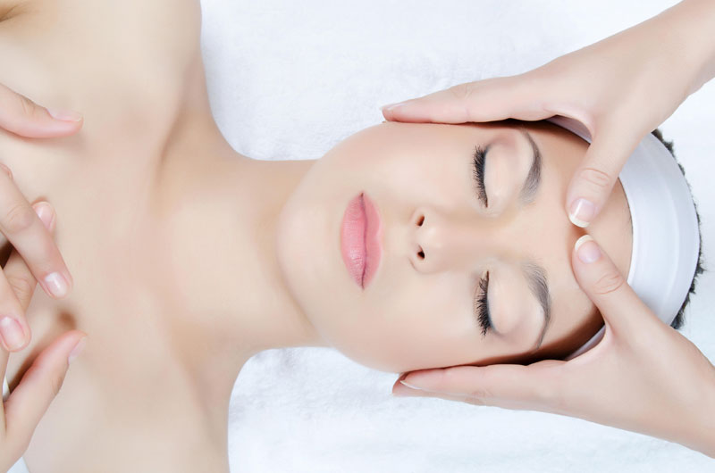 kurs masażu twarzy, szyi i dekoltu